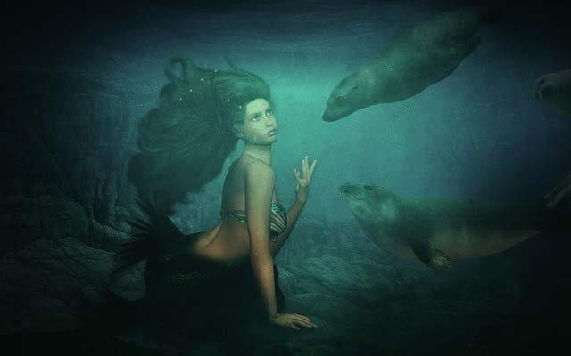 Pensacola Florida, Mermaids