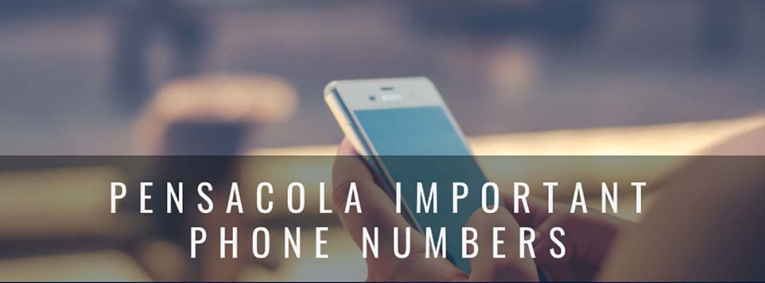 Important Phone Numbers For Pensacola Florida