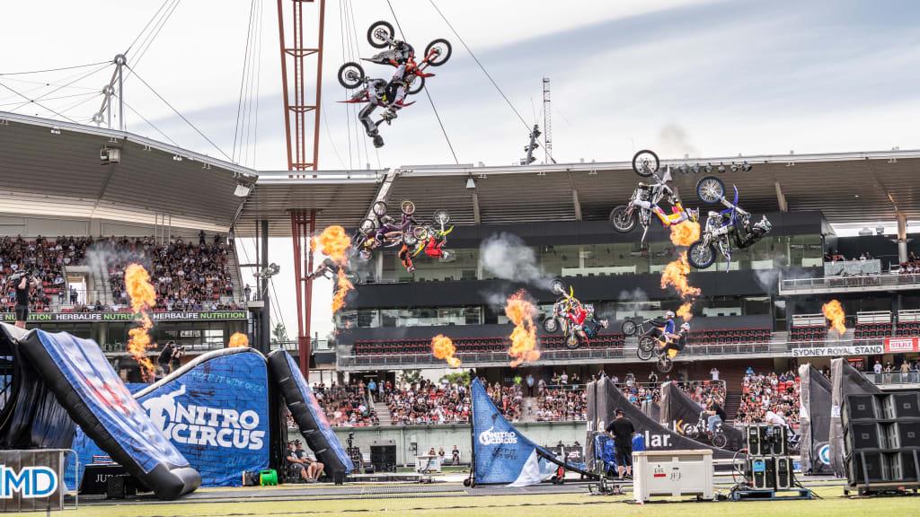 High-flying nitro circus